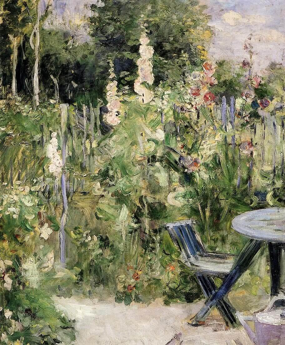"""""""Mályvarózsák"""", szerző: Berthe Morisot"""
